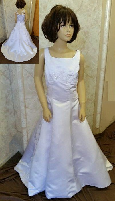 little bride dress