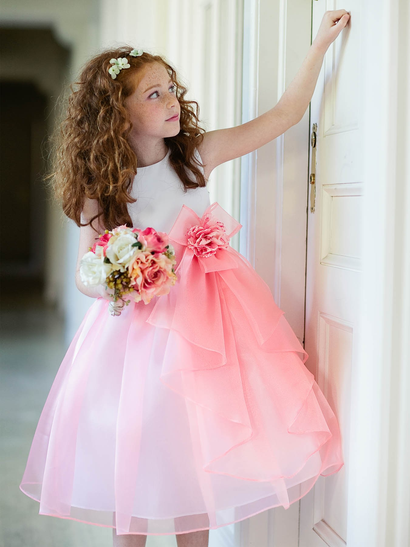 Inexpensive girls size 2 dresses adorable dress coral flower girl dresses dhlflorist Gallery