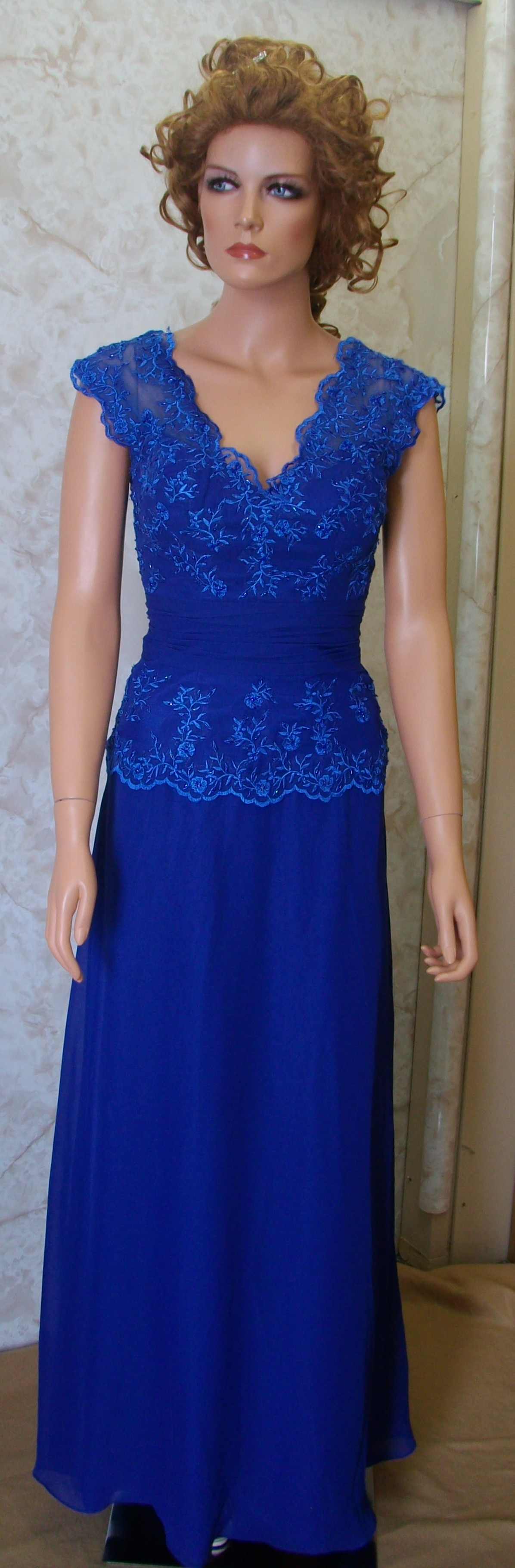 blue mother of the bride dress $110