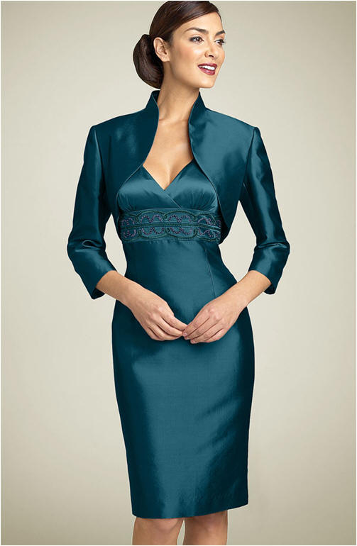 Mother of the bride pencil skirt suit