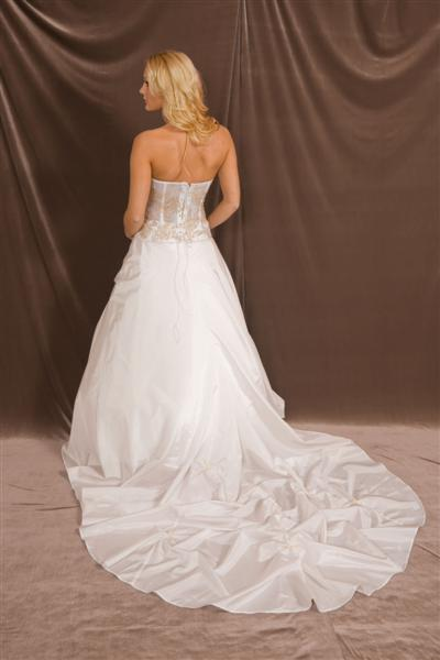 Sweetheart strapless see through corset wedding dress for See through corset wedding dresses