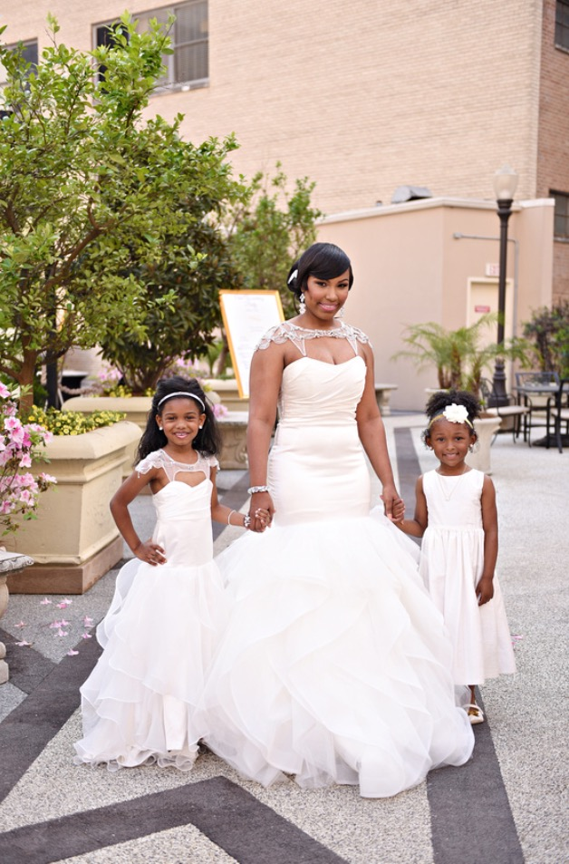 Mother Daughter Matching Dresses Bridal