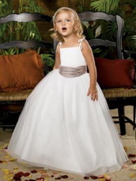 10b97f2e911b white and mocha flower girl dress