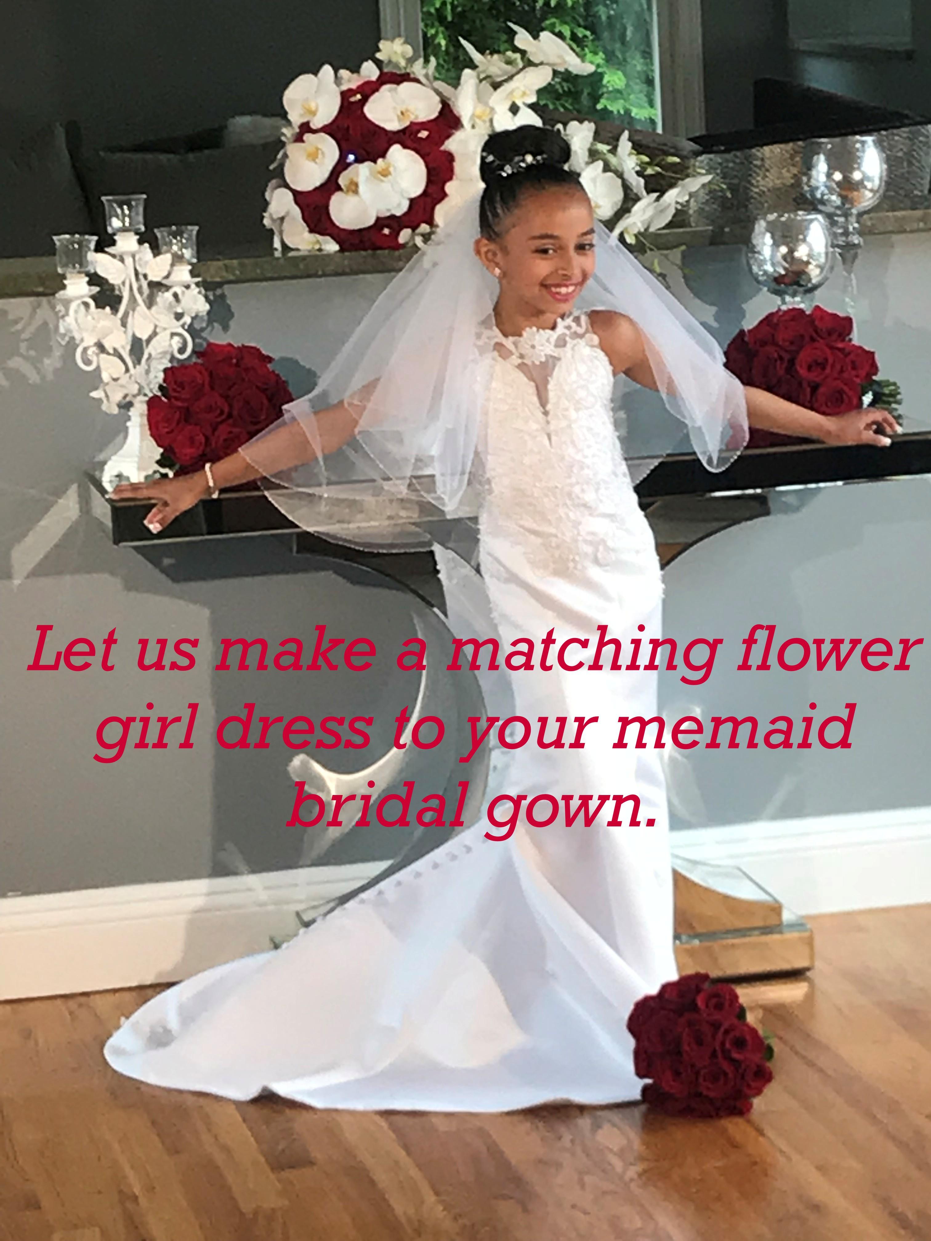 ee72defa1b Mermaid flower girl dresses.