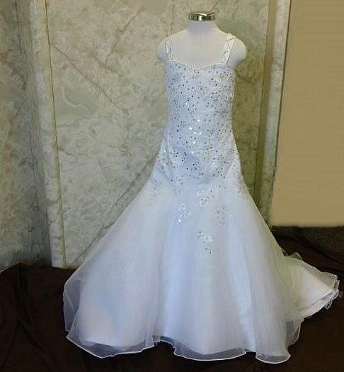 d2923d5d3bb Mermaid Wedding dresses for flower girls.