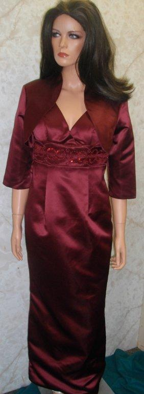 merlot long pencil skirt suit for a mother of the bride