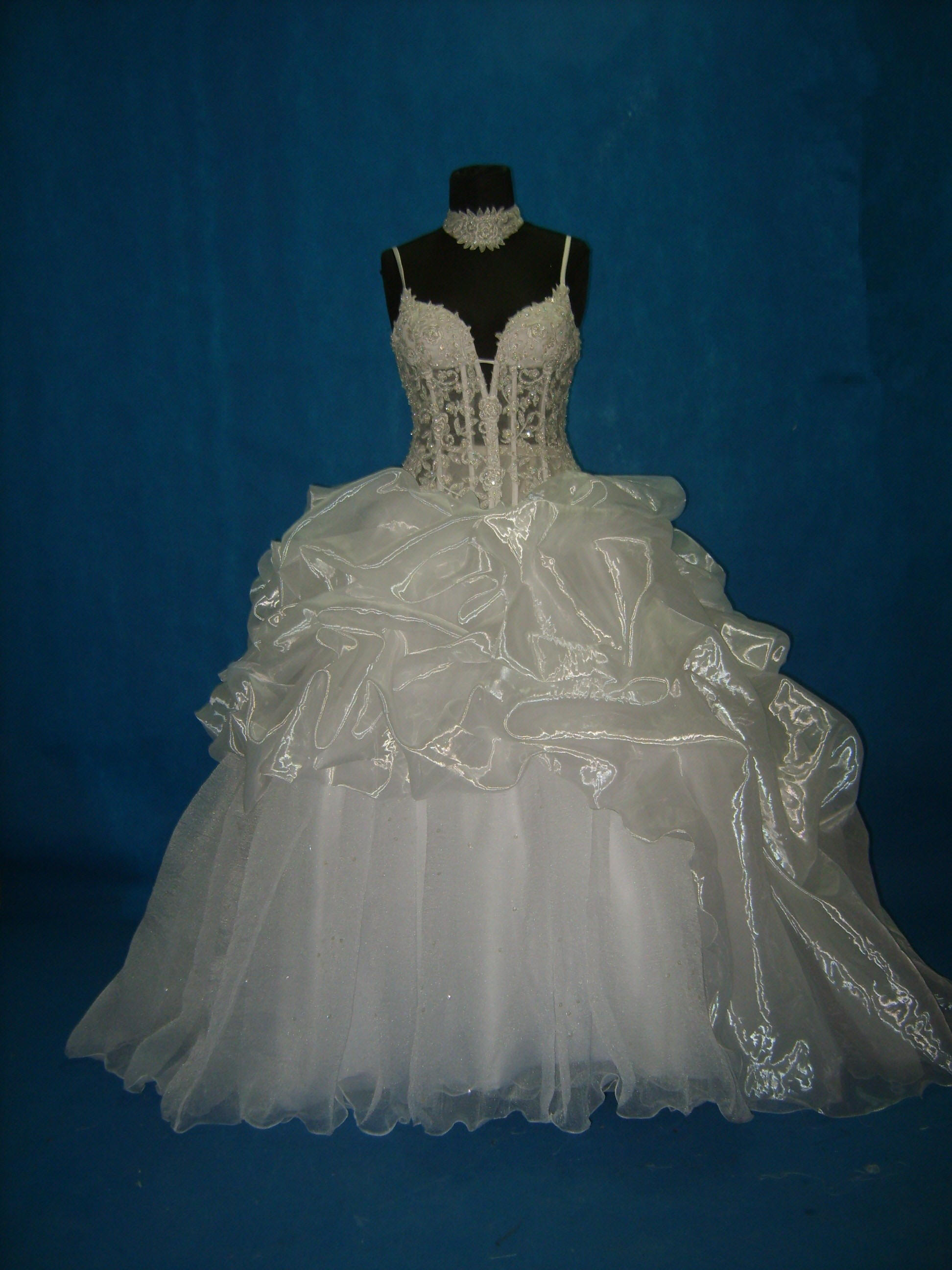 pickup wedding gown