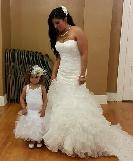 4c97dedaa Infant and toddler wedding dresses · wedding dresses for bride and baby girl  ...