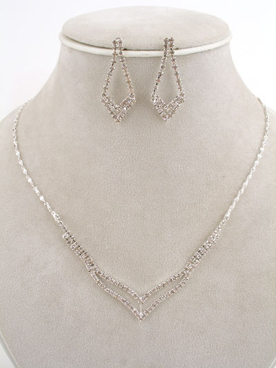 Rhinestone Jewelry Sets