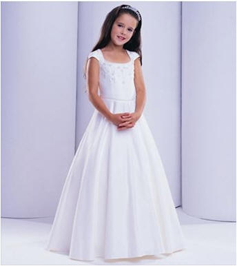 customize flower girl dresses