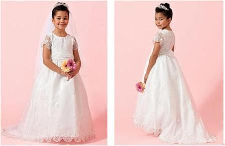 short sleeve children dresses