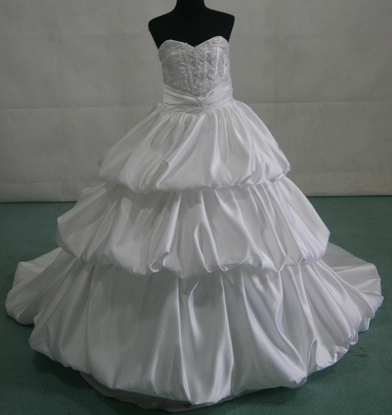 Bubble tiered gown - miniature bride.