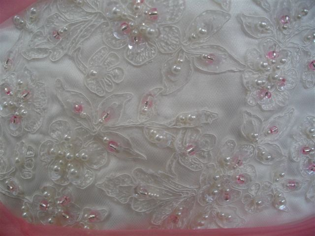 Bodice Applique and sequins