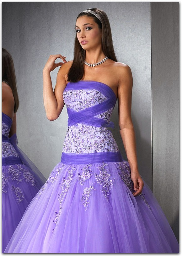 purple ballroom dresses