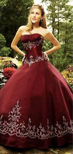 fitted strapless quinceanera dress