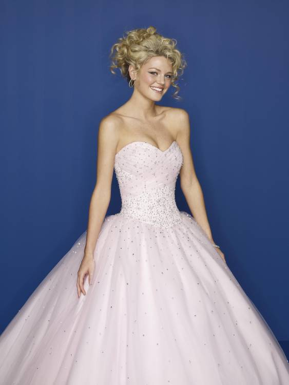 Sweetheart Strapless Prom Dress