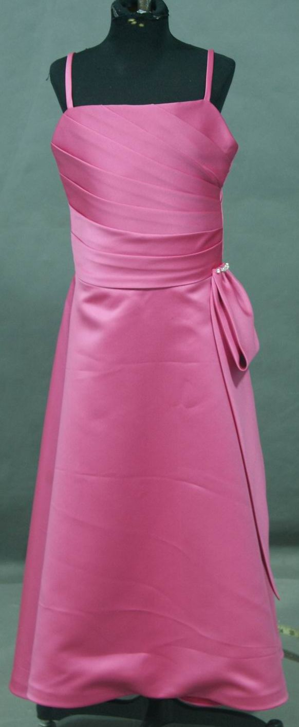Long Pink Dresses for weddings, pageants or prom.