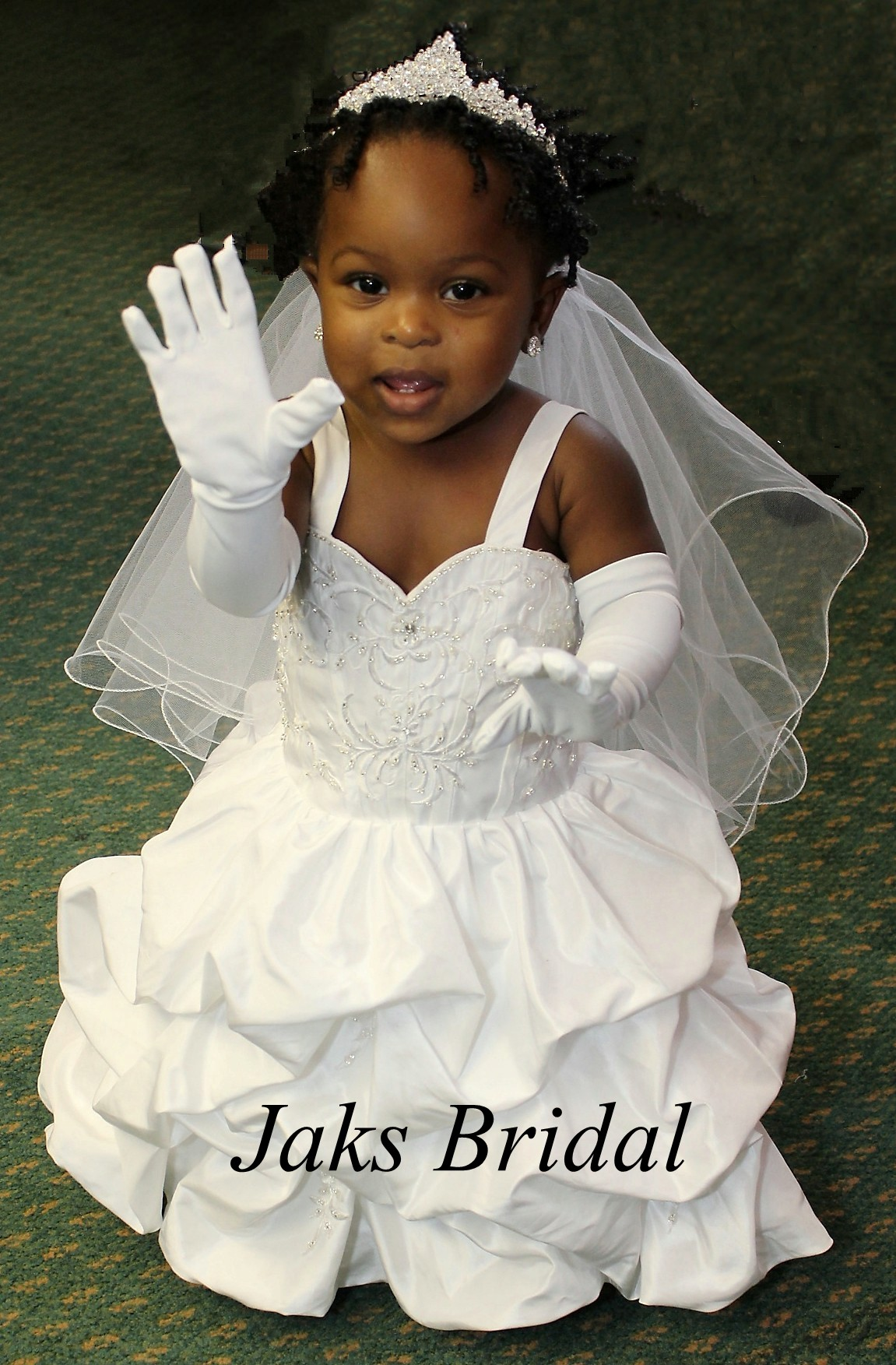 infant toddler wedding dresses with trains