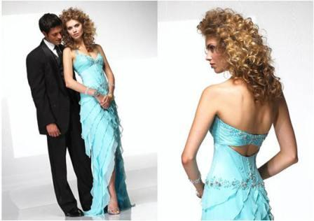 2009 Prom turquoise dress