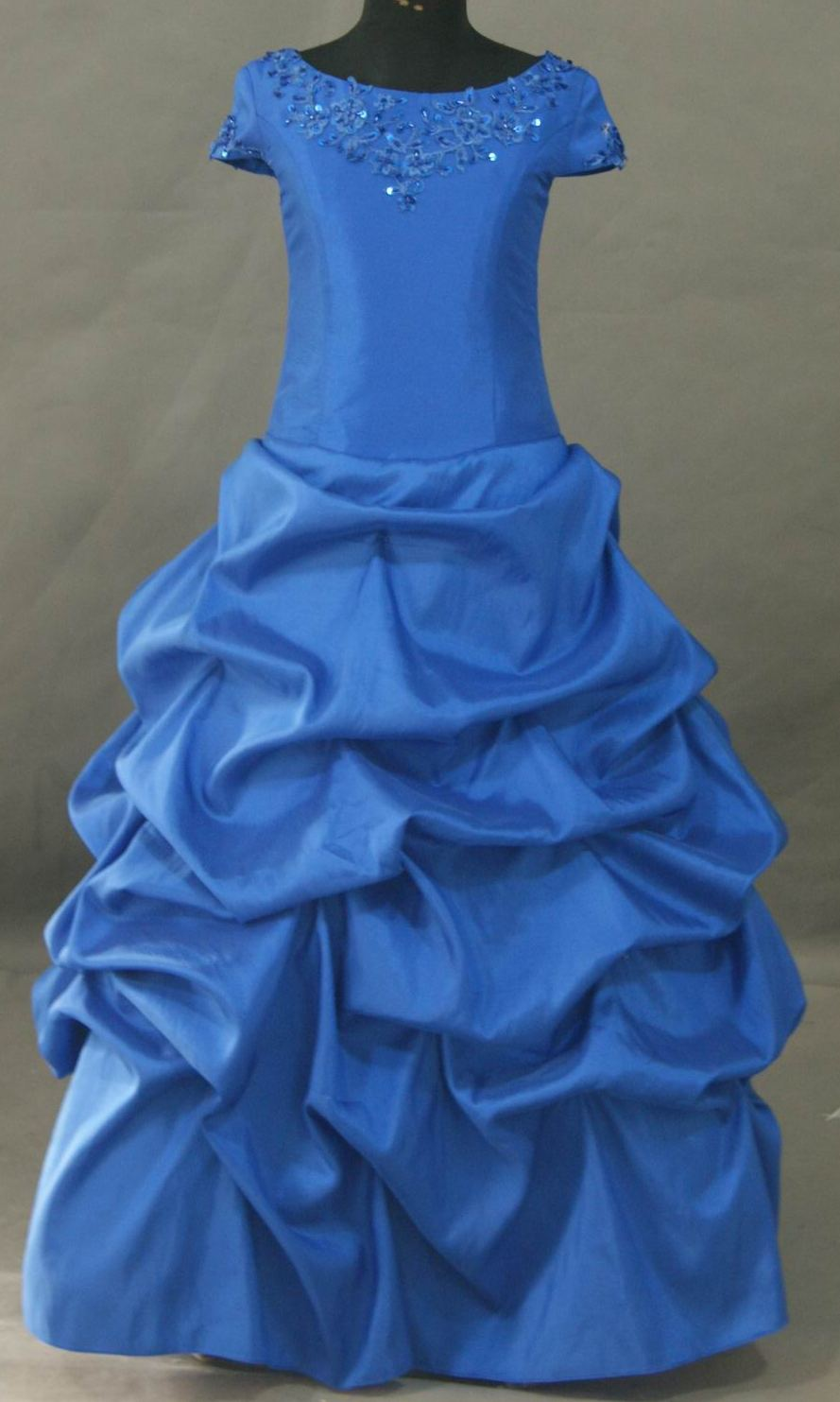 Childrens Royal Blue Party Dresses 95