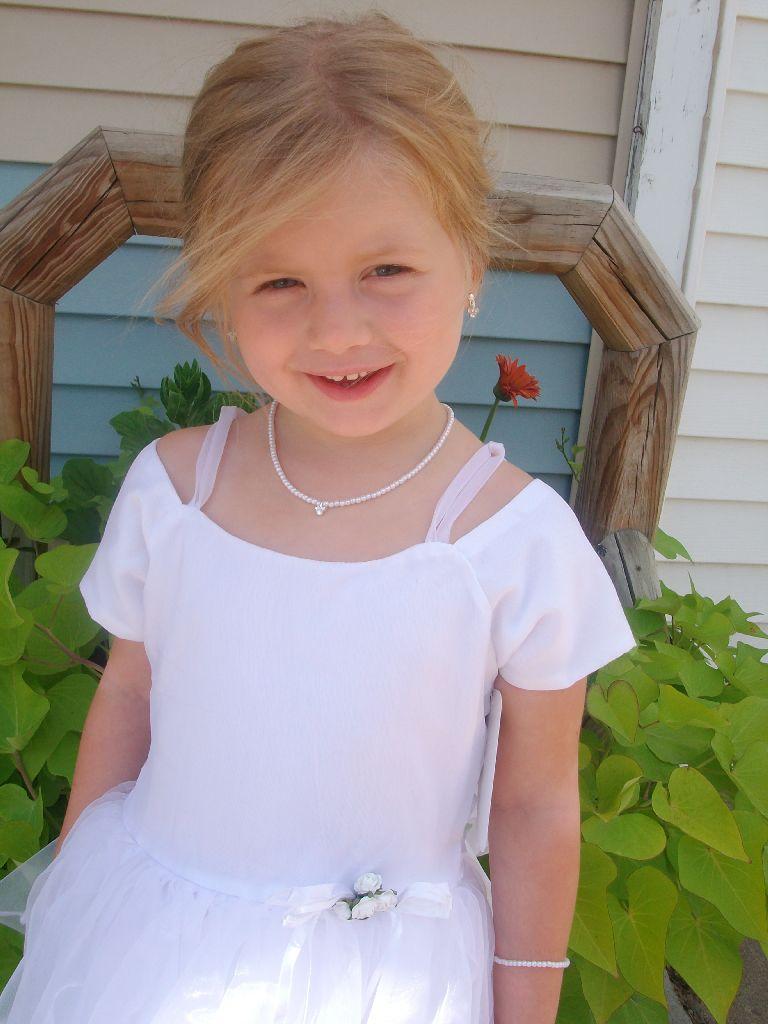 Girls size 5 white flower girl dress cheap flower girl dresses under 30 izmirmasajfo