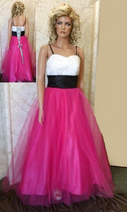 Zebra Hot Pink Wedding Dresses