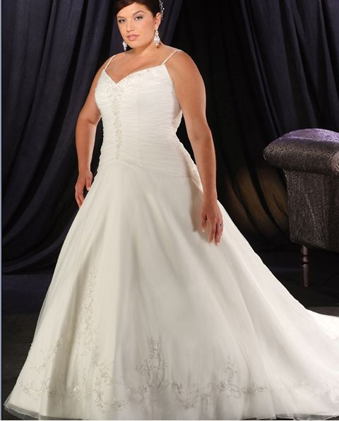 Plus size sweetheart wedding gowns for Plus size wedding dresses kansas city