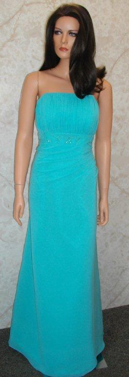 teal cheap bridesmaid dresses