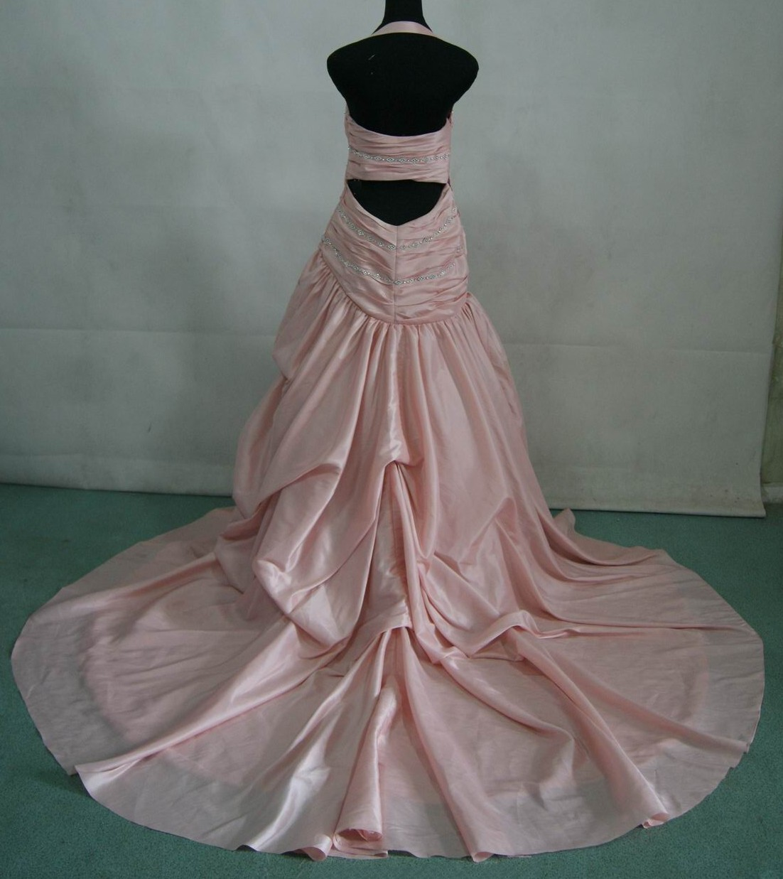 Pink Halter Wedding Dresses Wedding Bells Dresses