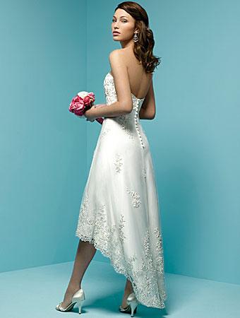 Tea Length Wedding Gowns Under 250