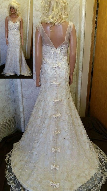 Bow Wedding Dresses