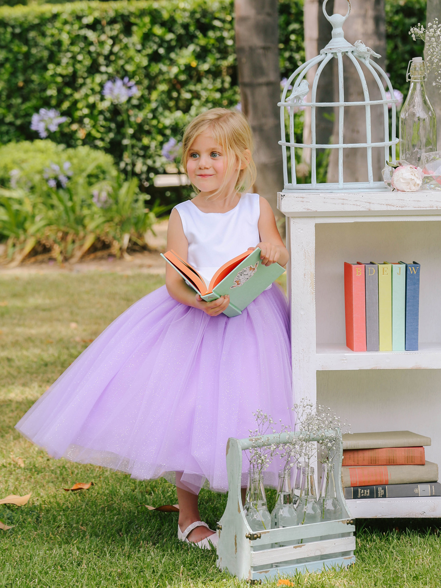 girls lilac easter dresses