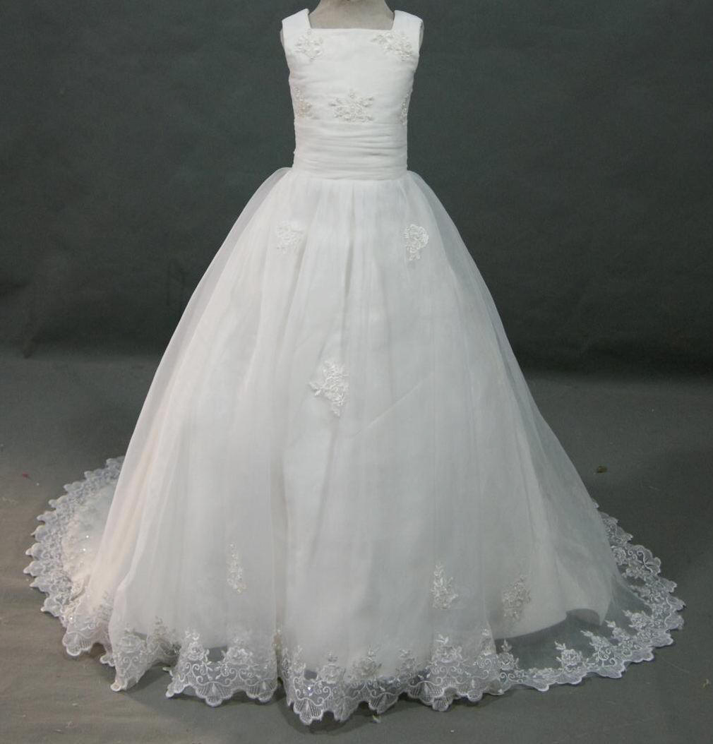 Lace flower girl dresses for Wedding dresses for young girls