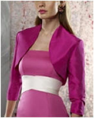 Wedding Gown Bolero jacket - bridesmaid Bolero.