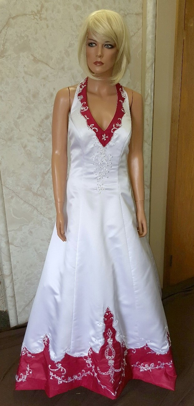 Used red bridesmaid dresses in charlotte nc discount for Discount wedding dresses charlotte nc