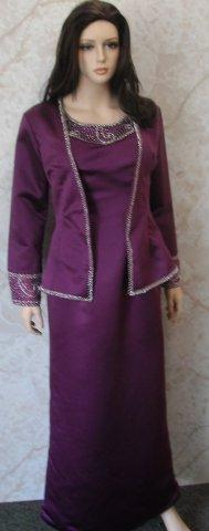 PURPLE SIZE 14 MOTHER OF THE BRIDE DRESS