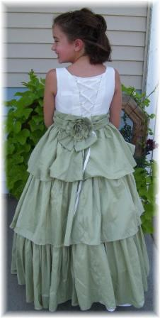 corset back flower girl dresses junior pageant and