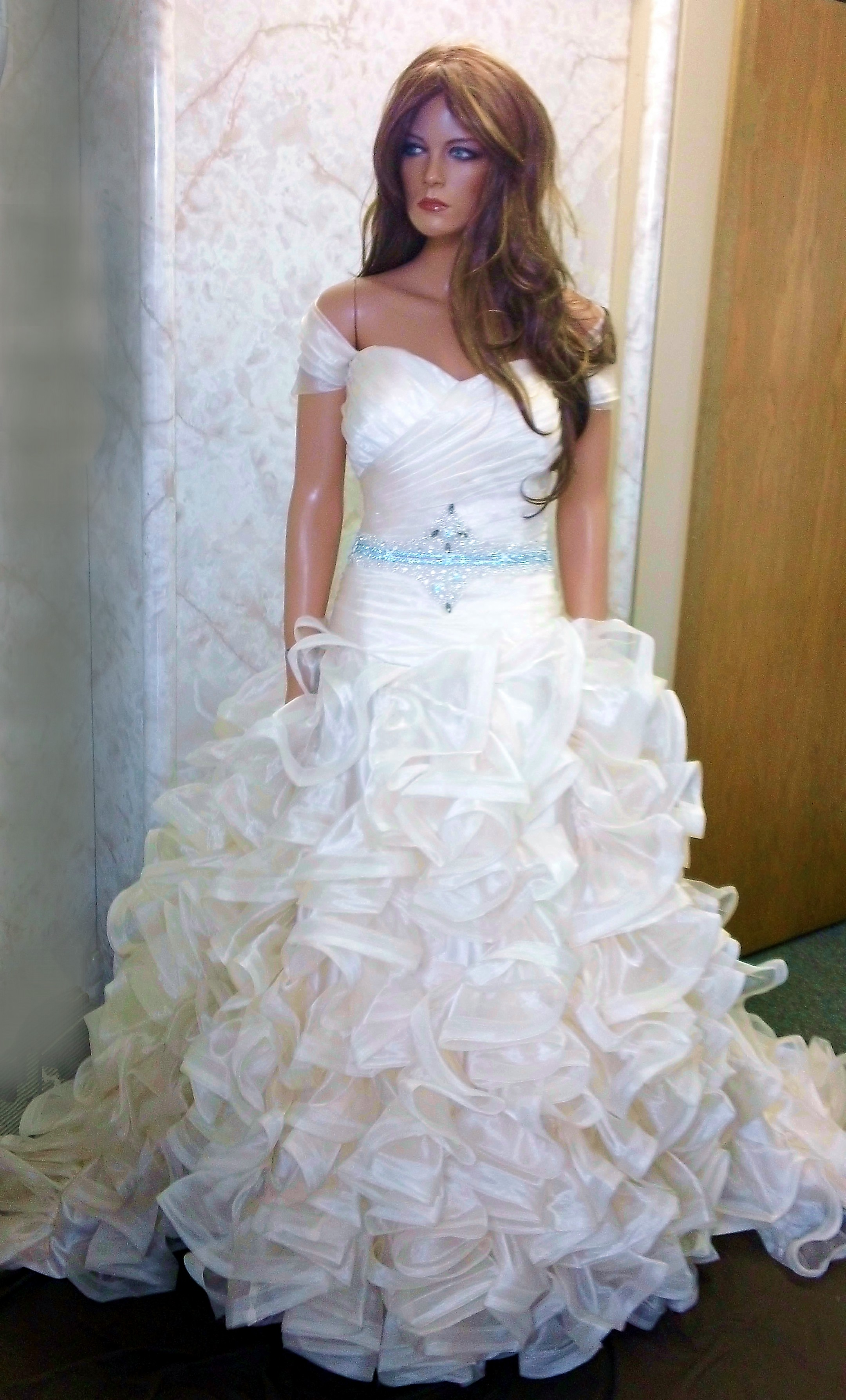 brides choice redesigned wedding gowns.