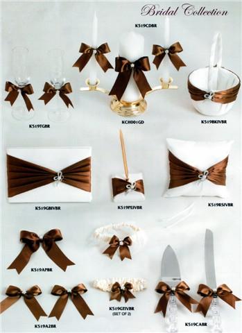 Brown Wedding Ceremony Accessories