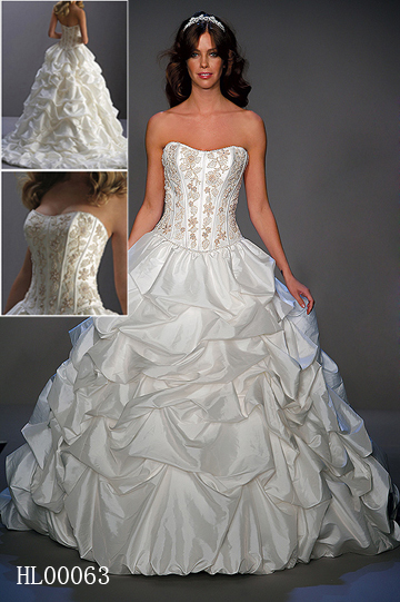 Bridal Ruched Up Gown