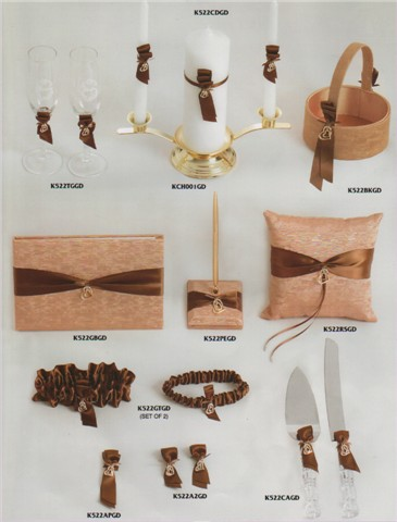 Affordable Wedding Decorations Gold Ceremony Accessories
